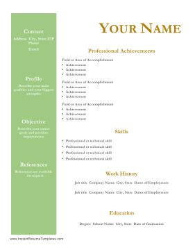 RESUMES and COVER LETTERS - Office of Career Services